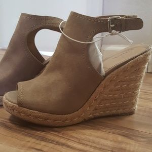 Merona open toed wedges